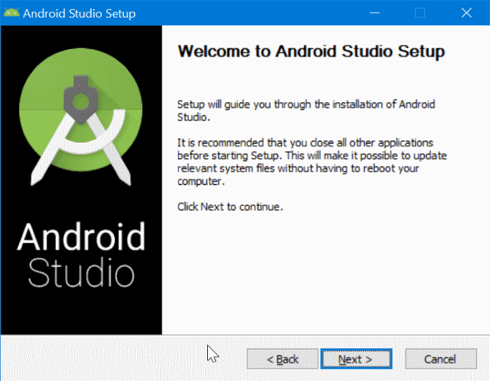 installer android sur windows 10 pic3