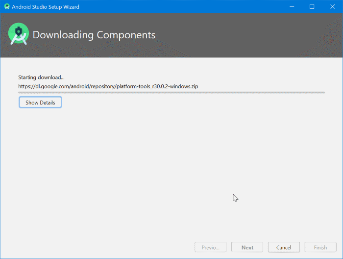 installer android sur windows 10 pic16