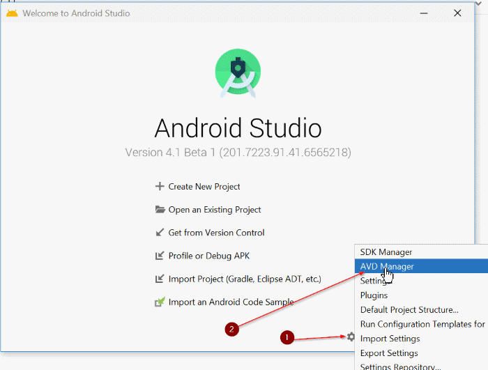 installer android sur windows 10 pic42