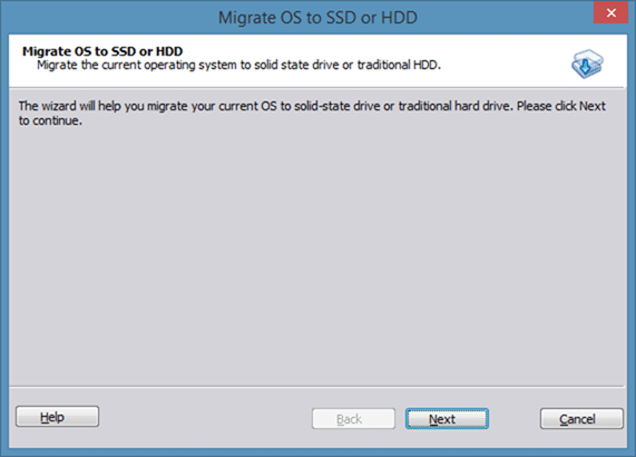 Migrer Windows 8 vers SSD à l'aide de Partition Assistant step2